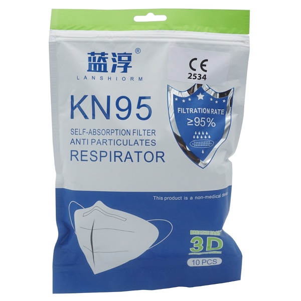 KN95 Atemschutzmaske FFP2 Äquivalent Verpackung