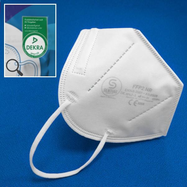 FFP2 Maske Made in Germany Dekra Schadstoffprüfung